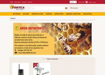 Fortea · Tienda Online por Ecomputer