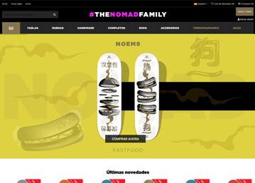 Nomad Skateboard · Tienda Online por Ecomputer